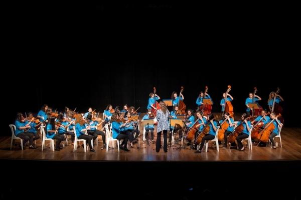 Orquestra Instituto GPA formada apenas por mulheres se apresenta no Museu da Casa Brasileira 41