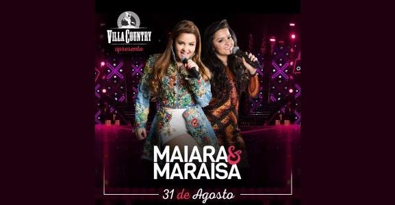 Maiara & Maraisa se apresentam no Villa Country 41