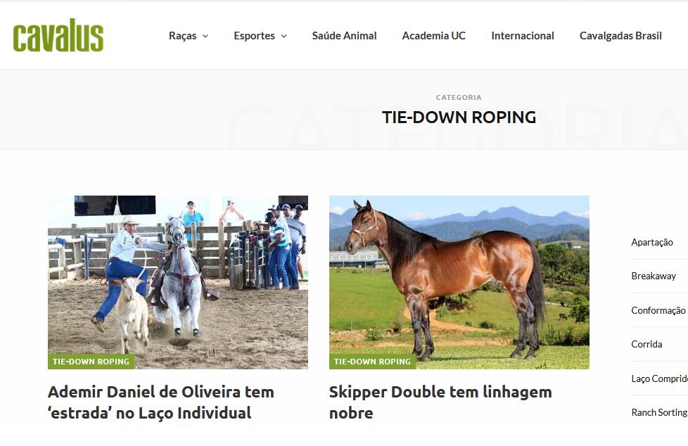 No ar: Portal Cavalus, a mais nova e completa mídia do meio equestre! 41