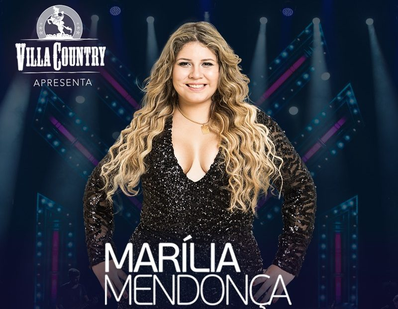 Marília Mendonça faz mega-show no Villa Country 41