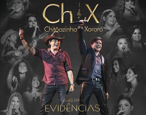 Elas em Evidências: Chitãozinho e Xororó gravam DVD com grandes nomes femininos da música 41