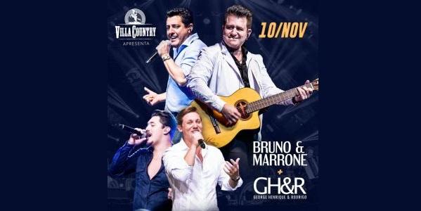 Bruno & Marrone voltam aos palcos do Villa Country 41