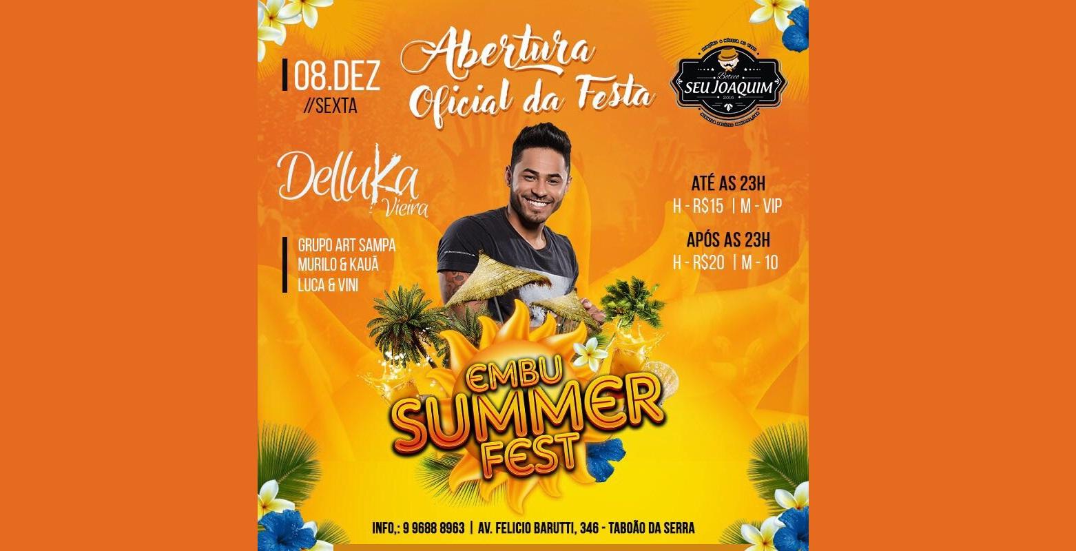 Festa de Abertura do Embu Summer Fest acontece sábado em Taboão da Serra 41