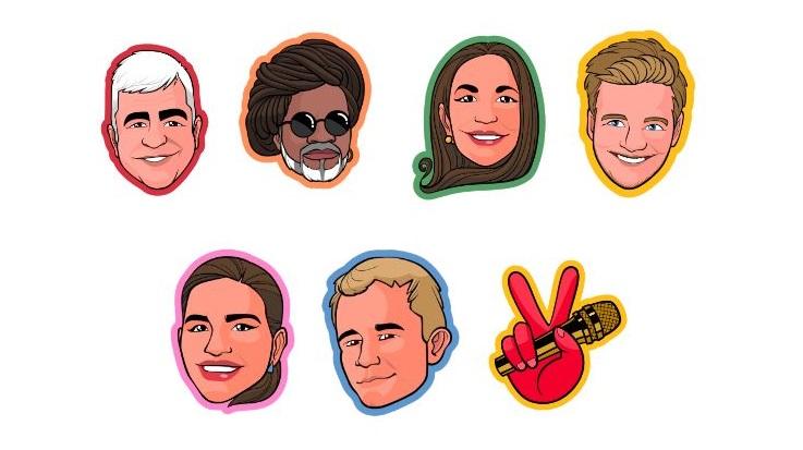 Final de The Voice Brasil terá emojis especiais no Twitter 41