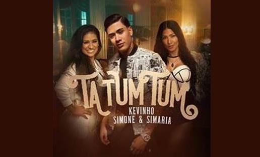 """O novo hit """"Ta Tum Tum"""", de Simone & Simaria e MC Kevinho,  chega hoje ao ápice, com o 1º lugar no Spotify! 41"""
