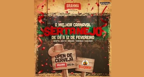 Villa Country realiza carnaval completamente sertanejo 41