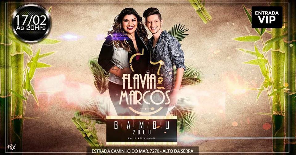 Flavia e Marcos fazem show no Riacho Grande em SBC 41
