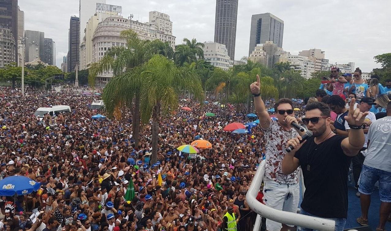 Pelo quinto ano consecutivo, João Lucas & Matheus comanda Bloco Chora Me Liga no Rio de Janeiro 41
