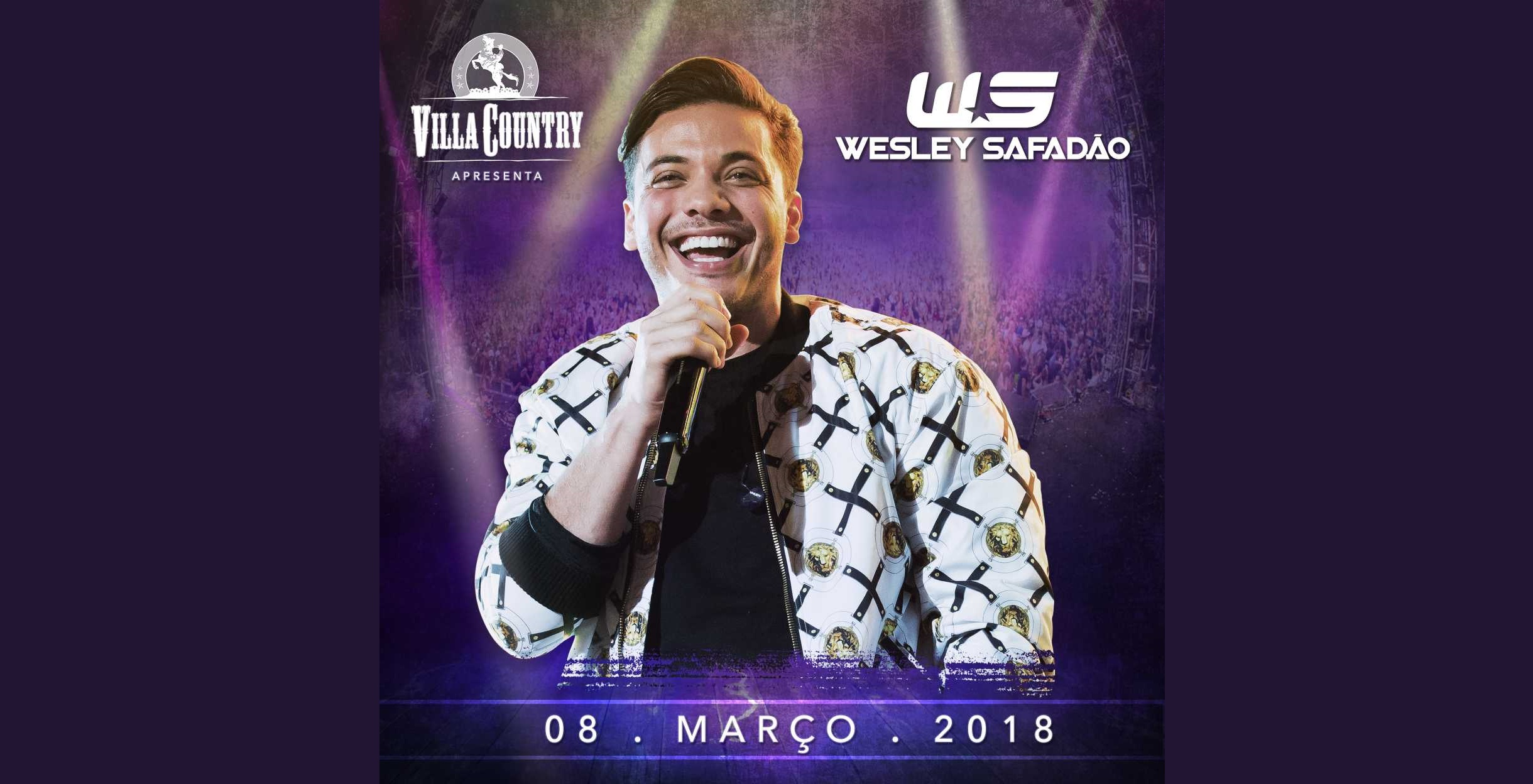 Wesley Safadão volta ao palco do Villa Country 41
