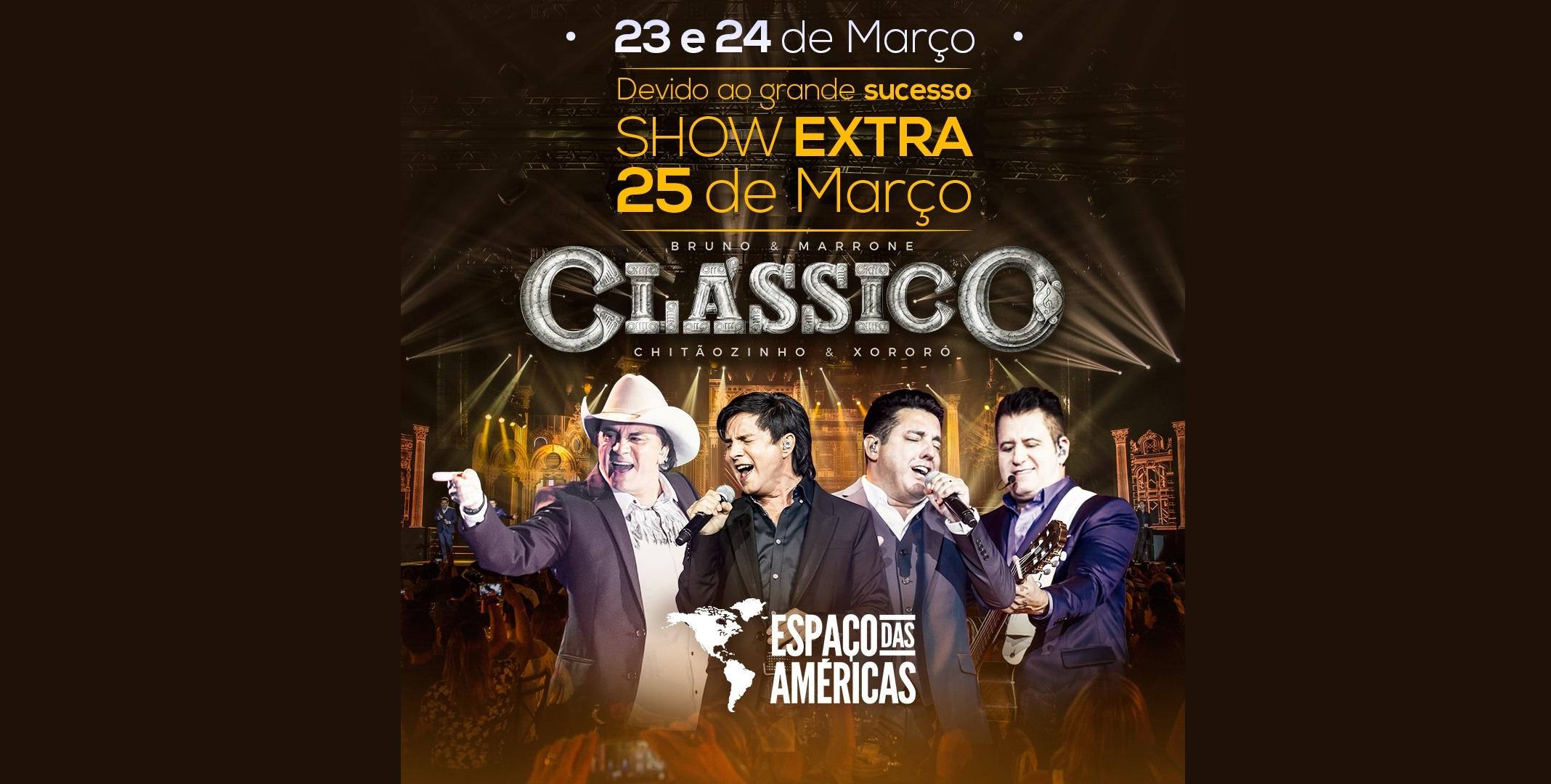 """Chitãozinho & Xororó e Bruno & Marrone apresentam a turnê """"Clássico"""" 41"""