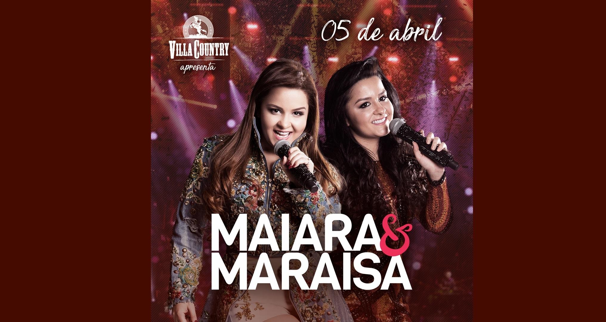 Maiara & Maraisa fazem mega show no Villa Country 41