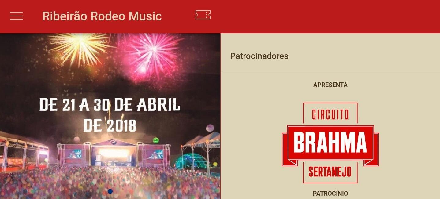 Aplicativo gratuito do Ribeirão Rodeo Music já está disponível 41