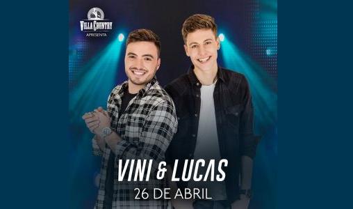 Vini e Lucas lançam CD e DVD no Villa Country 41