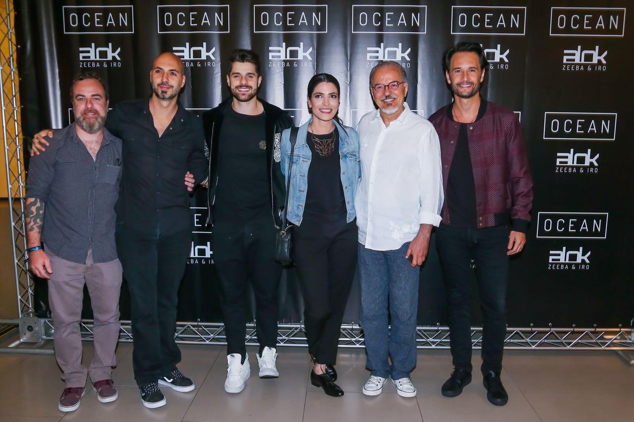 Com presença de Rodrigo Santoro, Alok fecha cinema para a première de 'Ocean' 41