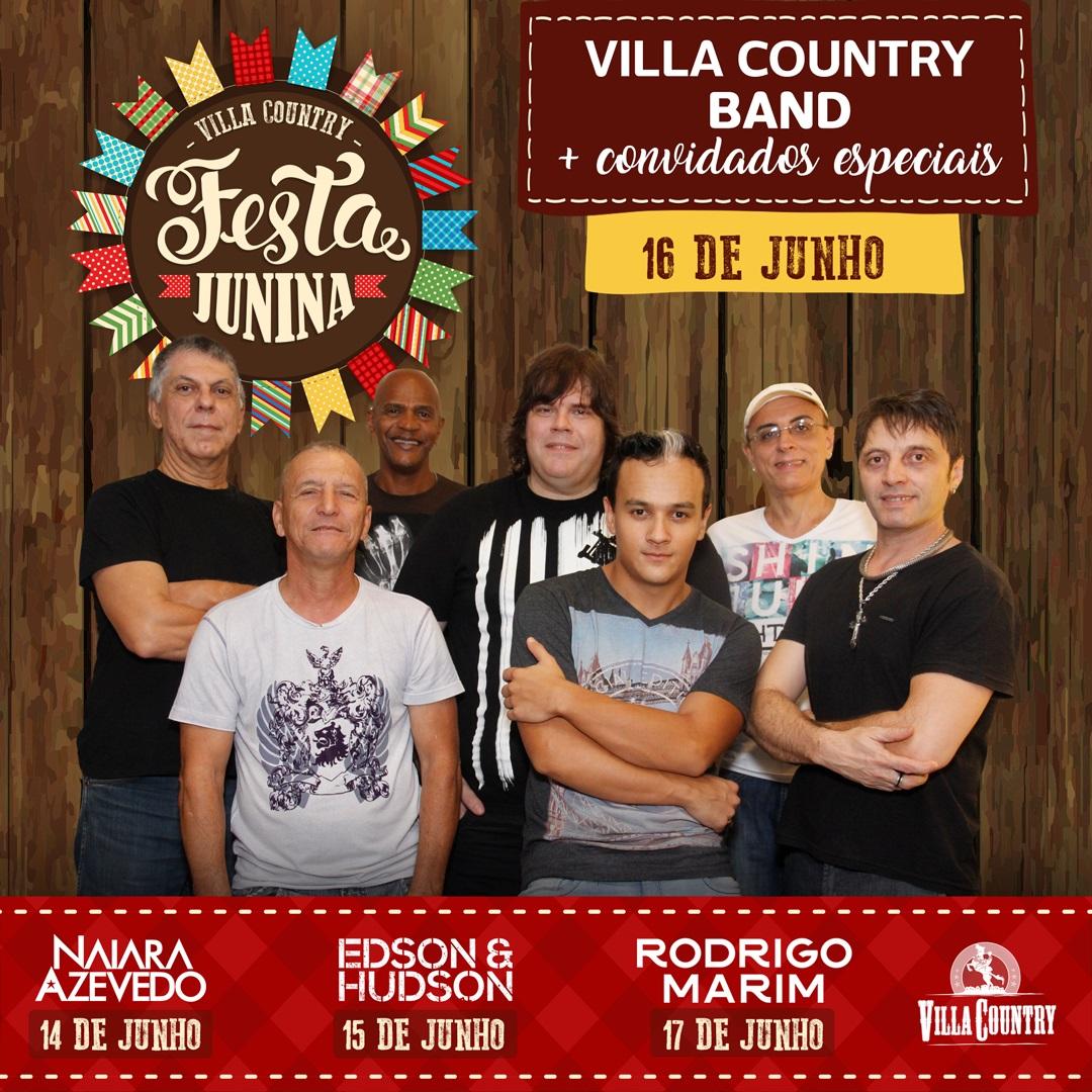 Banda Villa Country marca penúltima noite de Arraiá do Villa Country 41