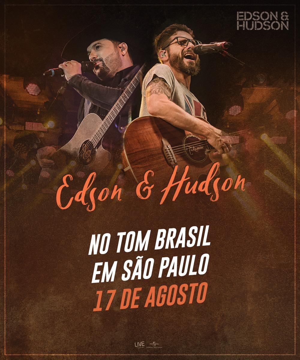 Edson e Hudson se apresentam no Tom Brasil 41