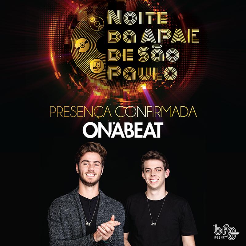 Filho DJ de Hortência e José Victor Oliva comanda festa beneficente da APAE DE SÃO PAULO com o projeto On'A Beat 41