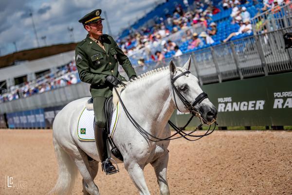 Time Brasil de Adestramento se despede dos Jogos Equestres Mundiais 41