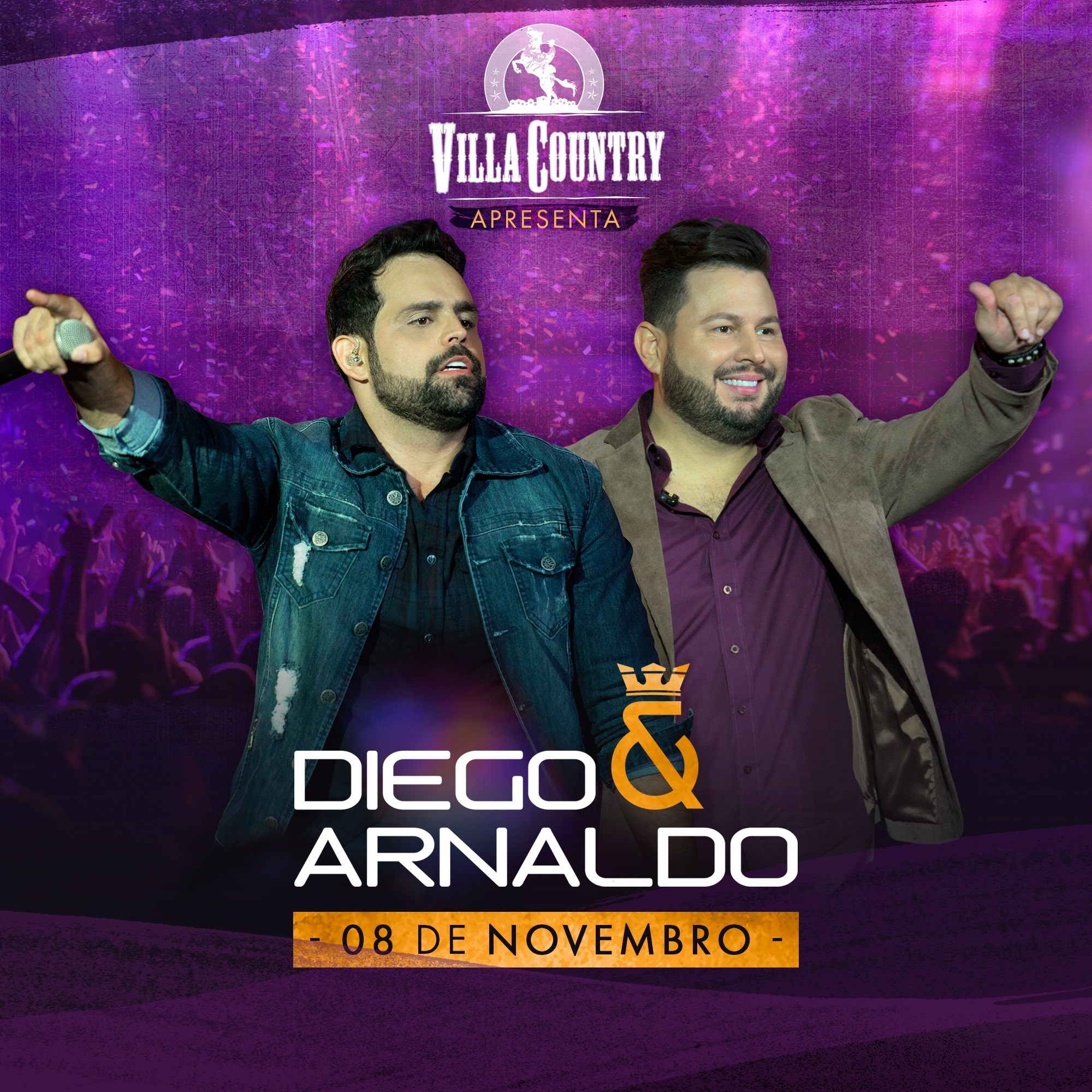 Diego & Arnaldo animam noite no Villa Country 41