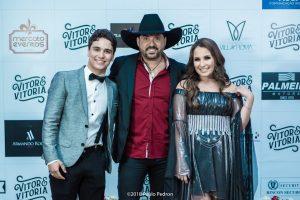 Edson e Hudson prestigiam a festa de lançamento do DVD de Vitor e Vitória 42