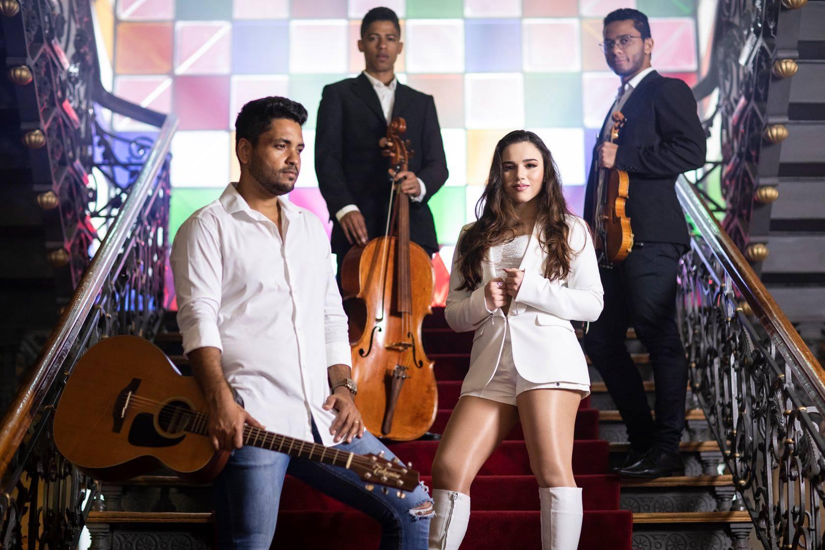 Sofia del Prado divulga música com participação de Fred Liel 41