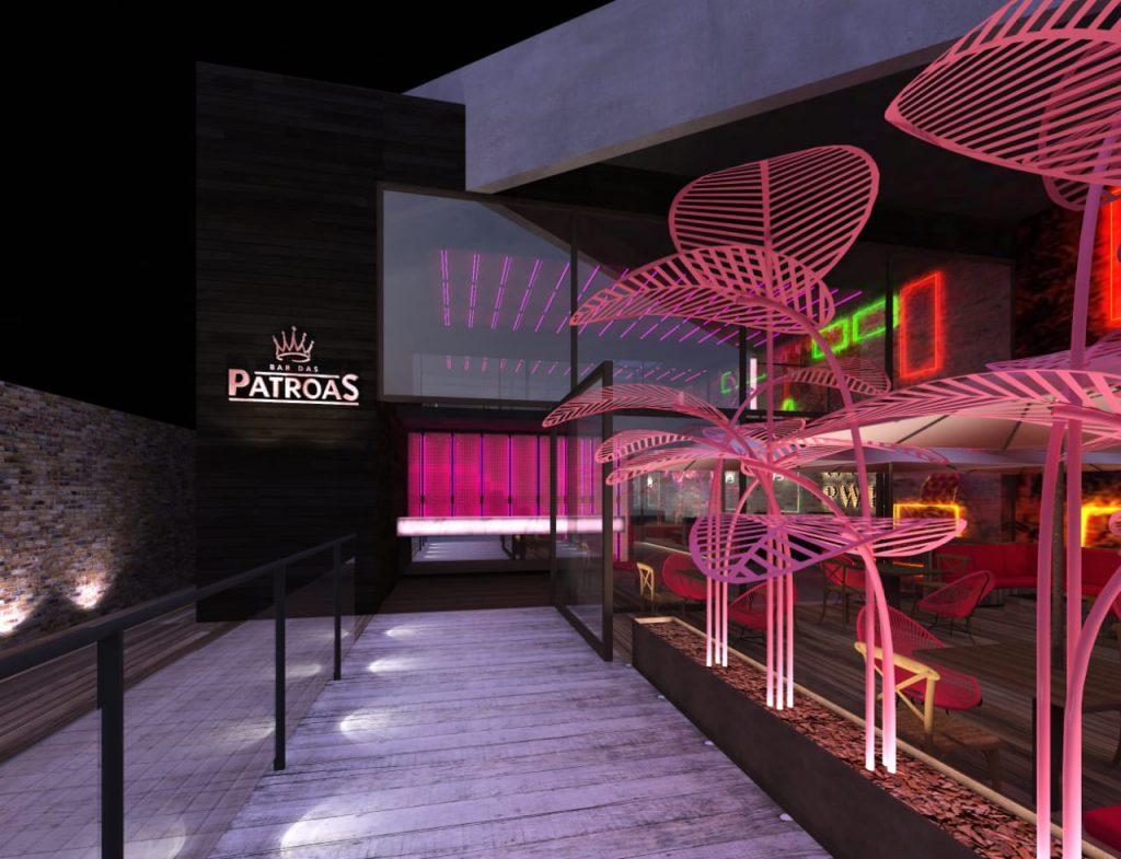 Bar das Patroas é inspirado no universo feminino e instagramável 42