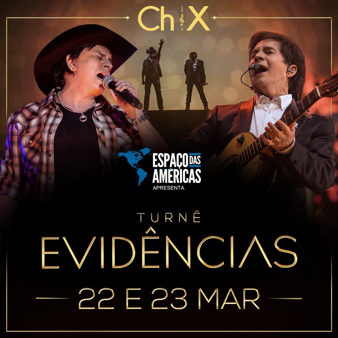 """Chitãozinho & Xororó voltam ao Espaço das Américas com turnê """"Evidências"""" 41"""