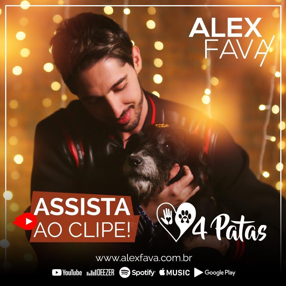 """Alex Fava lança clipe e música de """"4 patas"""" 41"""