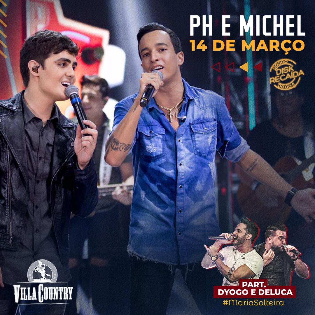 PH e Michel voltam ao Villa Country para show especial 41