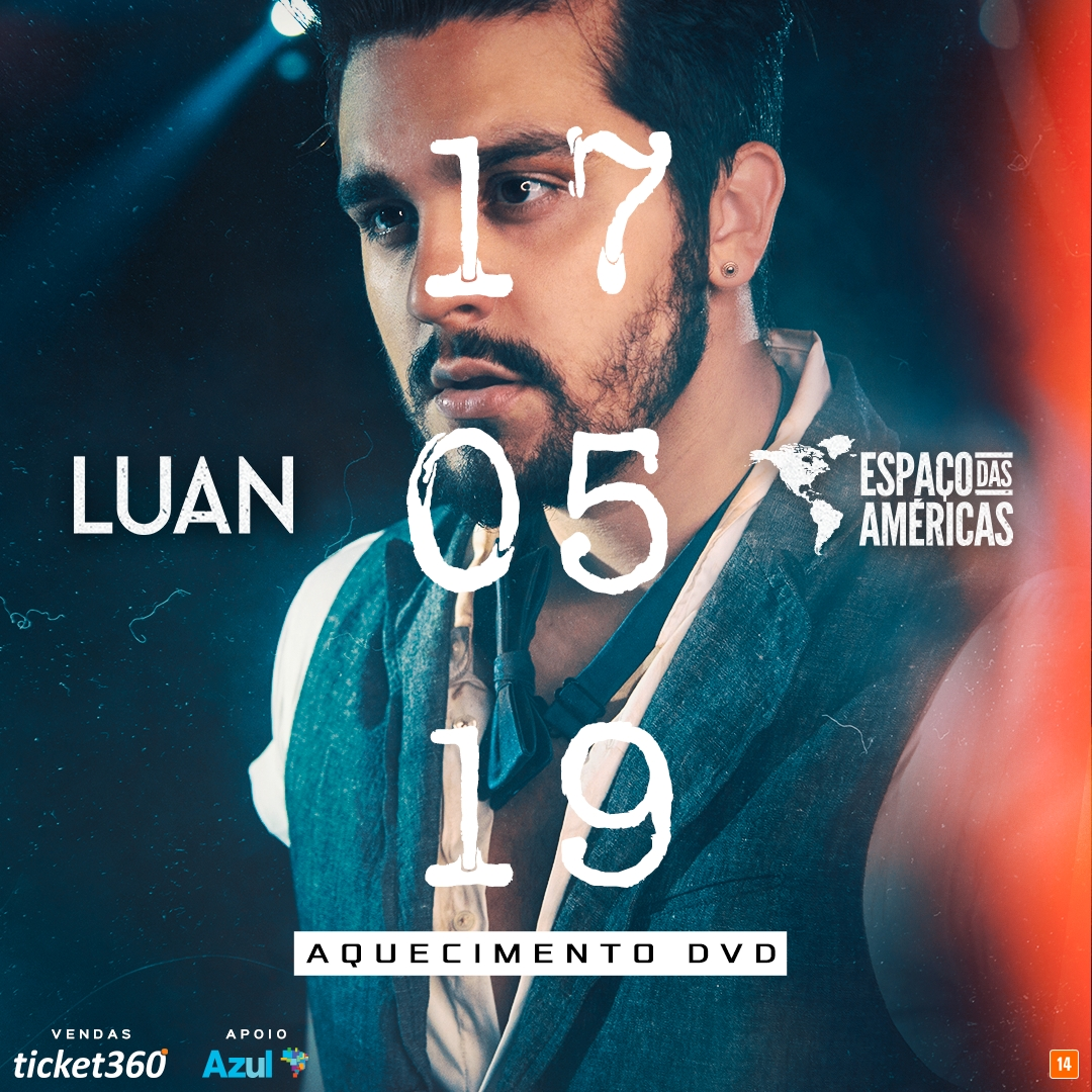 """Luan Santana chega ao Espaço das Américas com """"Turnê Live Móvel X"""" 41"""