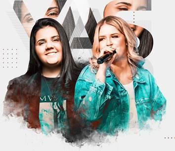 Yasmin Santos e Marília Mendonça juntas em DVD 41