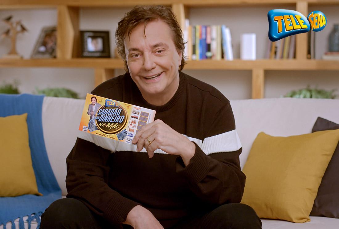Fábio Jr. participa dos comerciais da Tele Sena 41