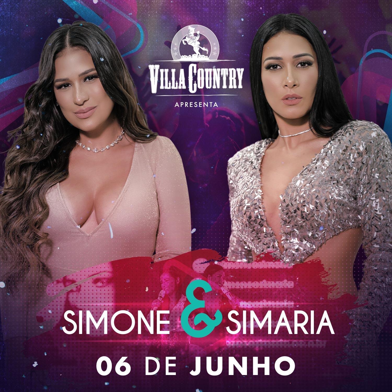 Simone e Simaria se apresentam no palco do Villa Country 41