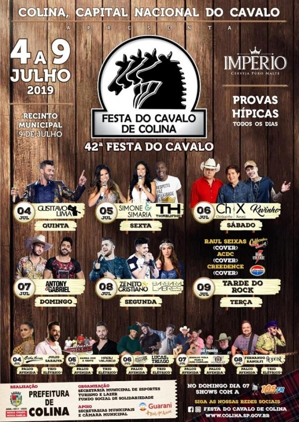 Festa do Cavalo em Colina, recebe Simone e Simaria, Gustavo Lima e Chitãozinho e Chororó 41