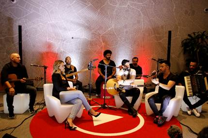 Diego e Victor Hugo lançam novo álbum em evento no YouTube Space 41