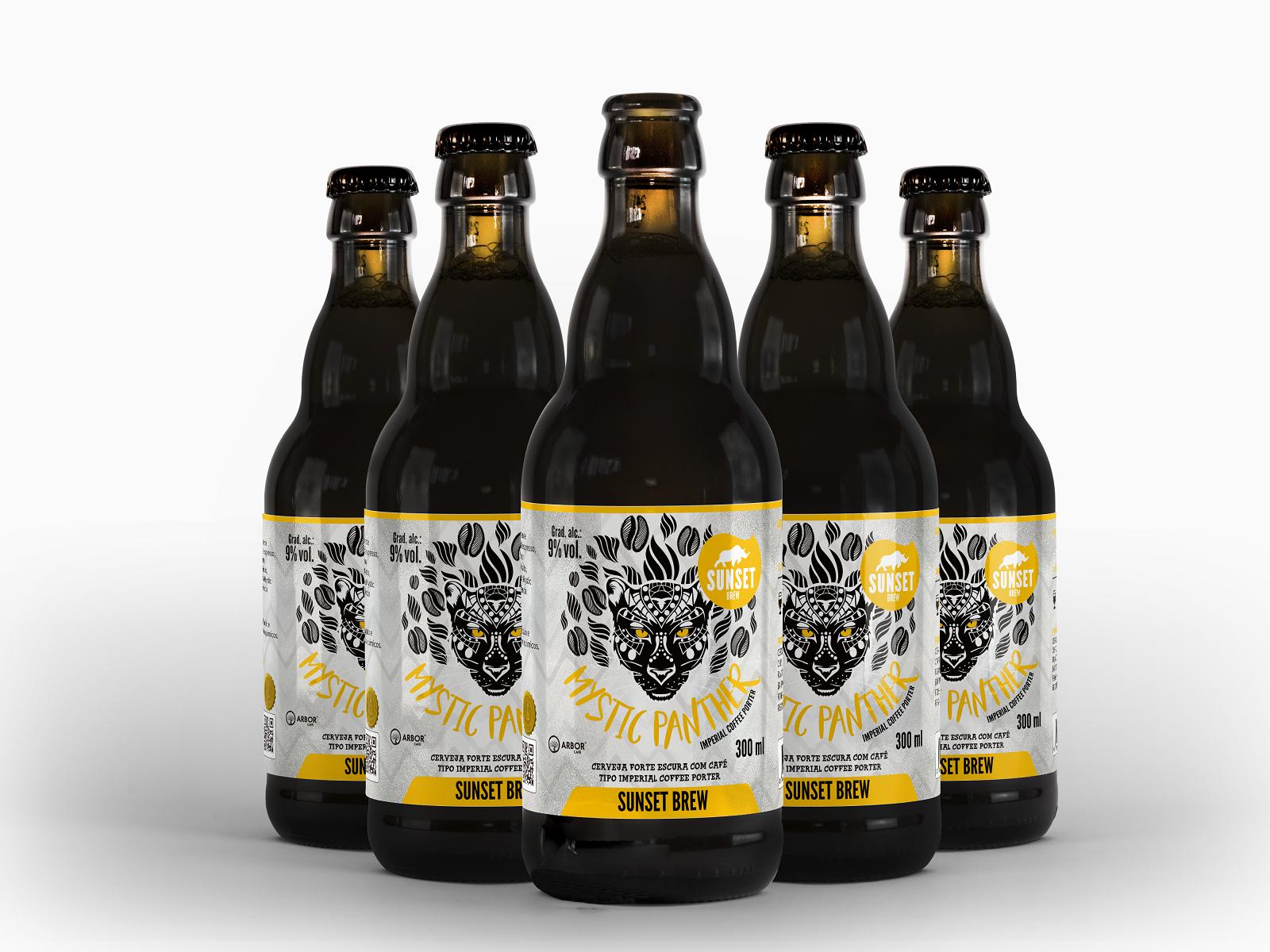 Mystic Panther lança cerveja com café Catuaí Amarelo 41