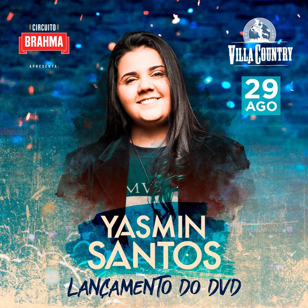 Yasmin Santos lança seu primeiro DVD no Villa Country 41