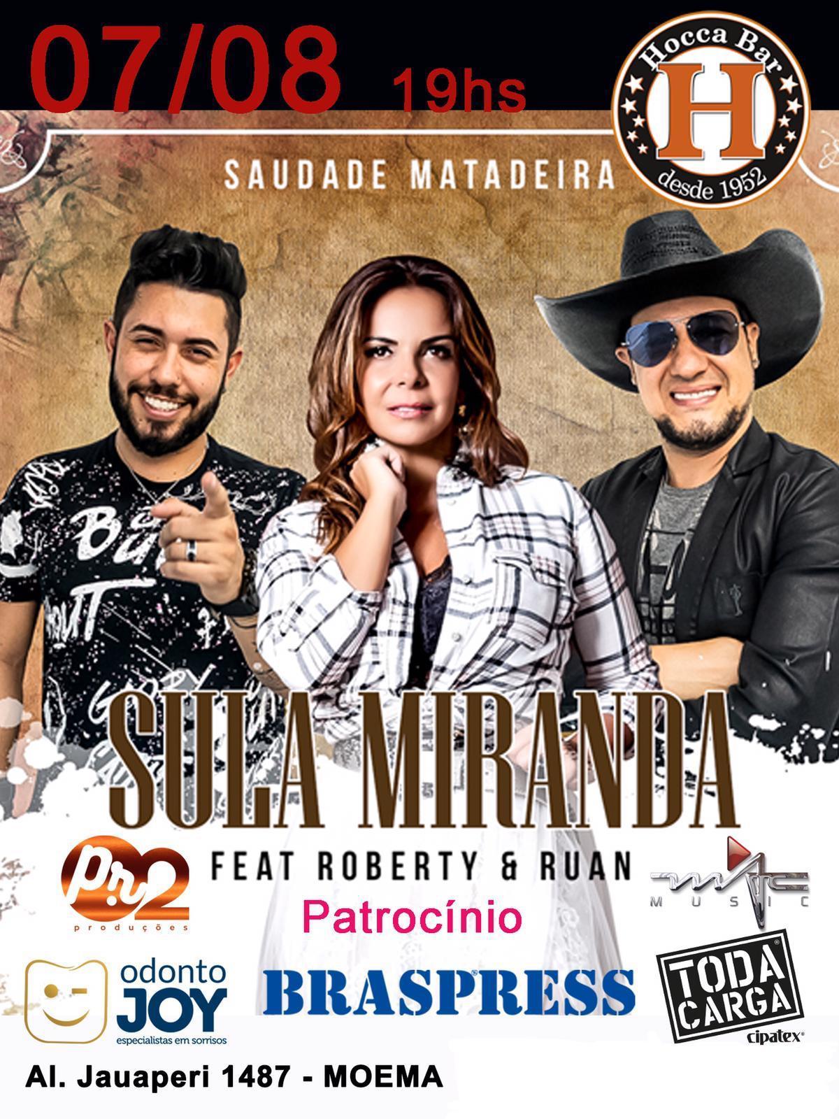 Sula Miranda lança nova musica e clipe 'Saudade Matadeira', com participação da dupla Roberty &Ruan 41