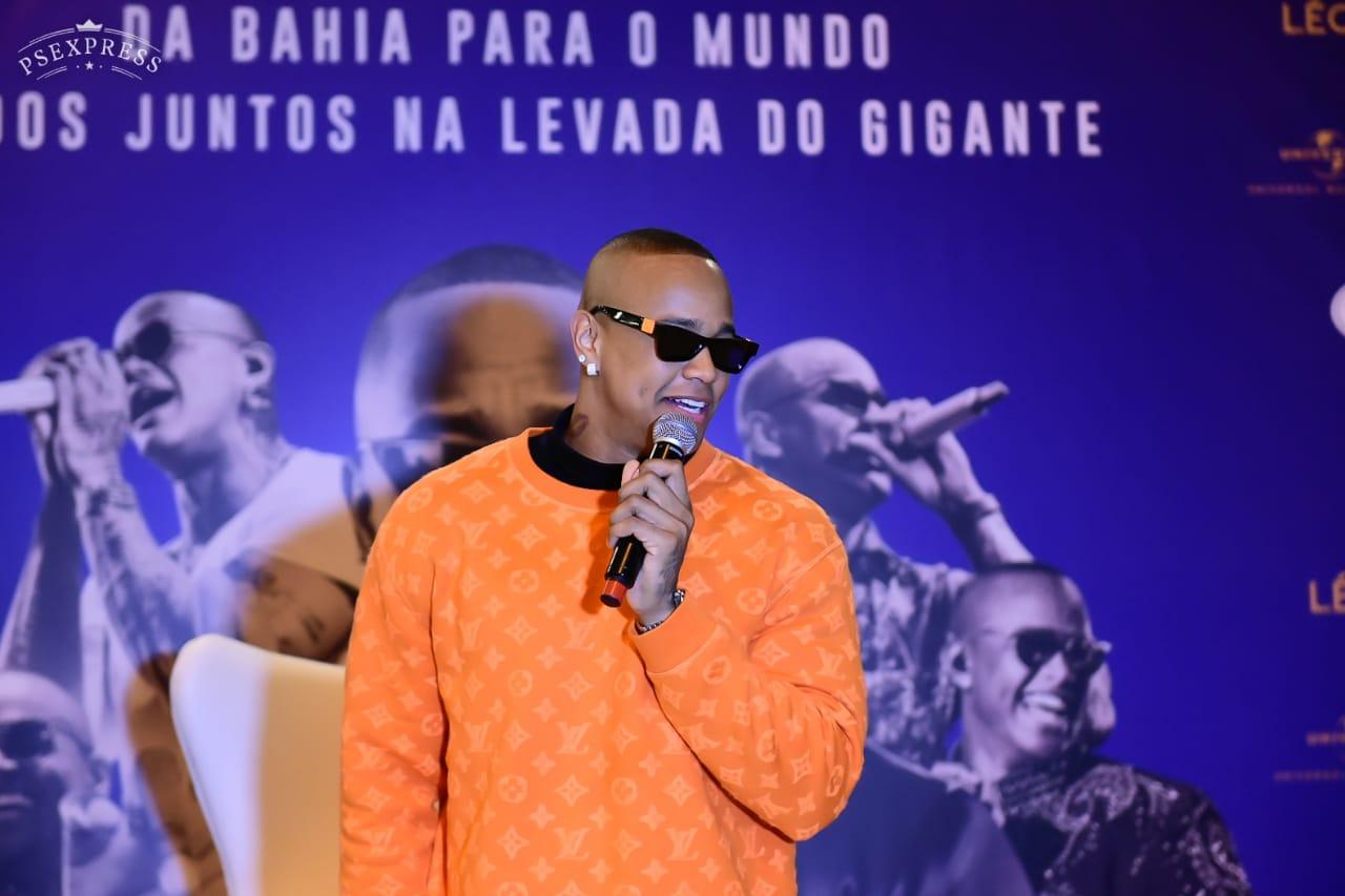 Léo Santana grava DVD 'Levada do Gigante' em São Paulo 41