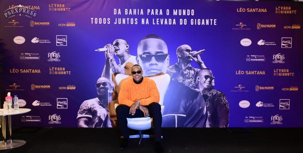 Léo Santana grava DVD 'Levada do Gigante' em São Paulo 42