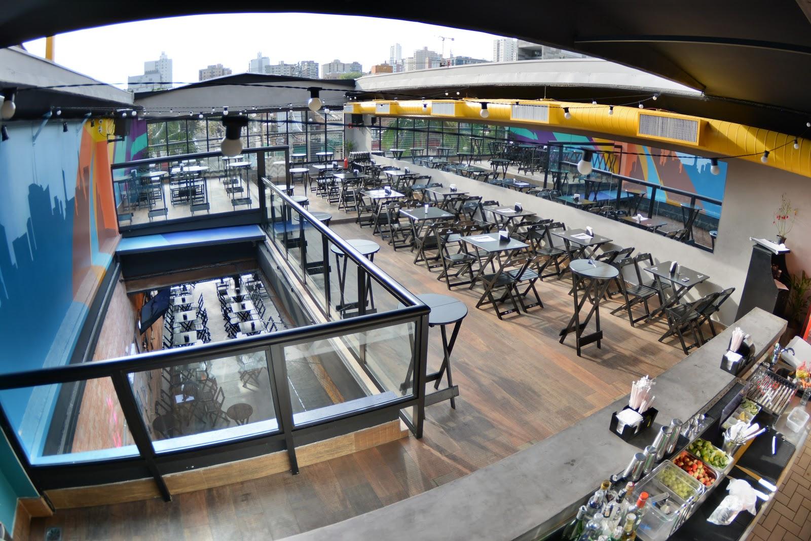 Na primavera, rooftop é atrativo para assistir ao pôr-do-sol no bar e curtir balada nas temperaturas mais quentes 41