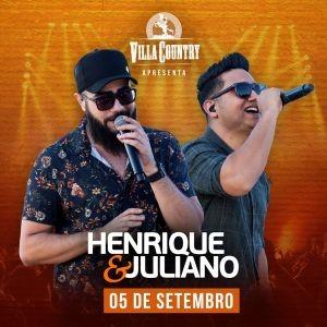 Henrique e Juliano apresentam sucessos no Villa Country 41