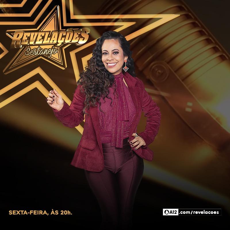 Na TV Aparecida, Adriana Sanchez integra júri que vai revelar os novos talentos da música sertaneja 41