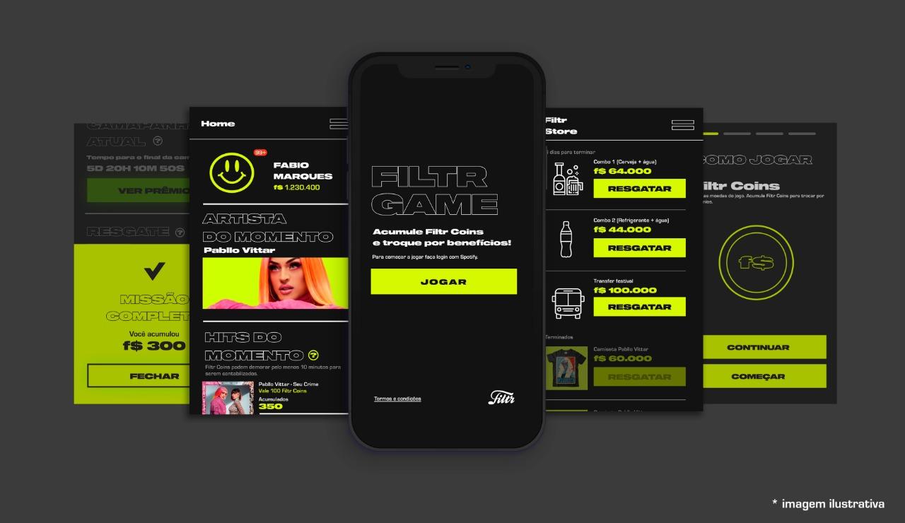 Filtr Game: Sony Music traz o conceito de gamificação para o mundo da música 41