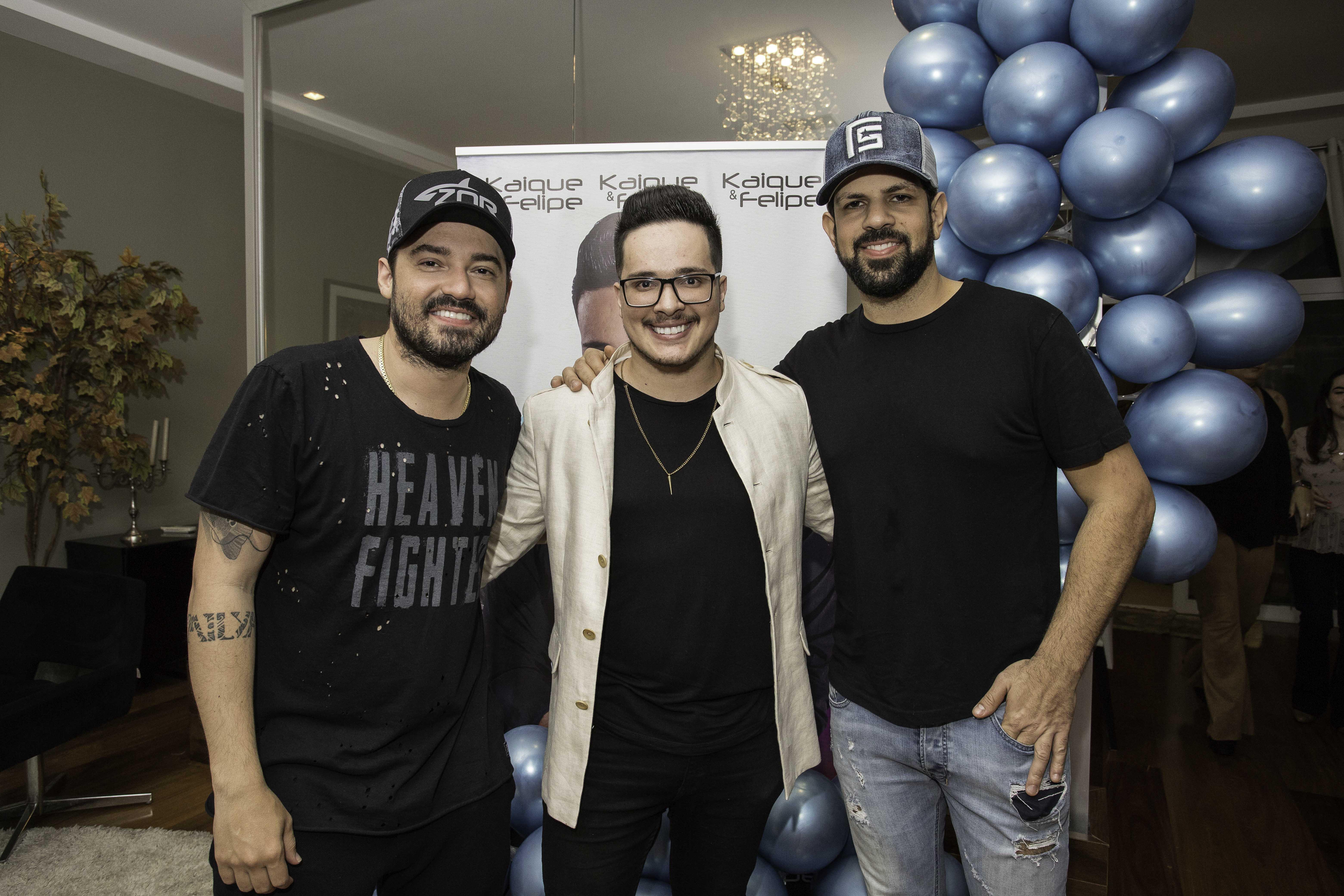 Fernando e Sorocaba marcam presença no aniversário do Felipe Rodrigues 41