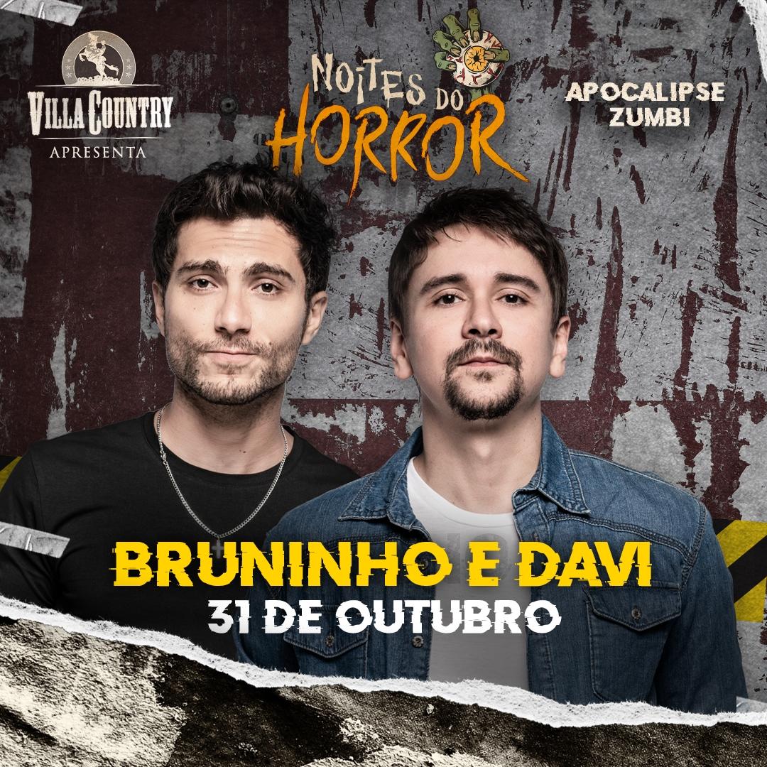 Bruninho e Davi abrem Halloween do Villa Country 41