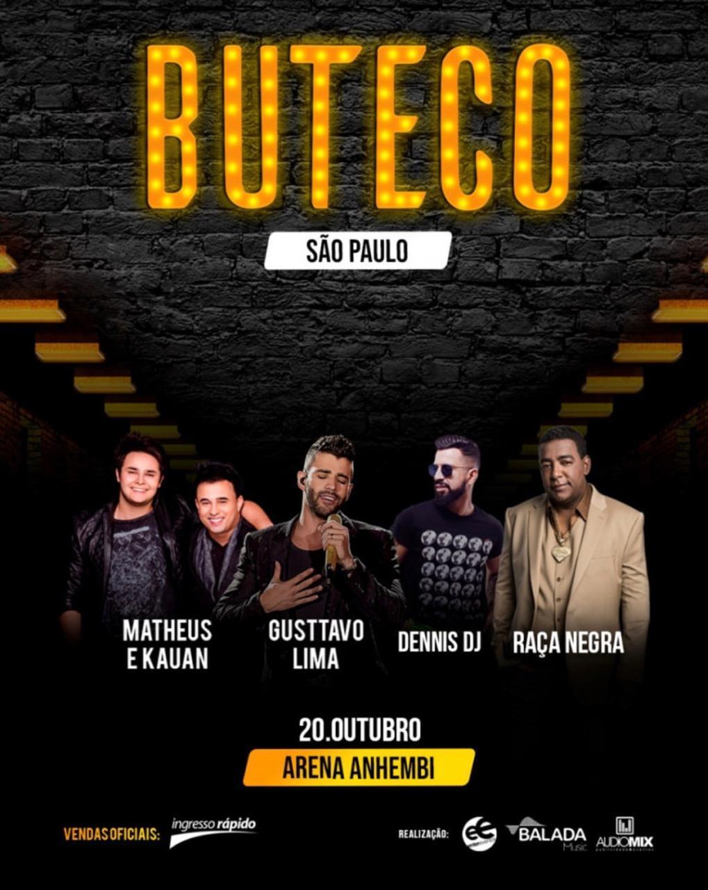 """Gusttavo Lima comemora sucesso com venda de ingressos na estreia do """"Buteco"""" em São Paulo 41"""
