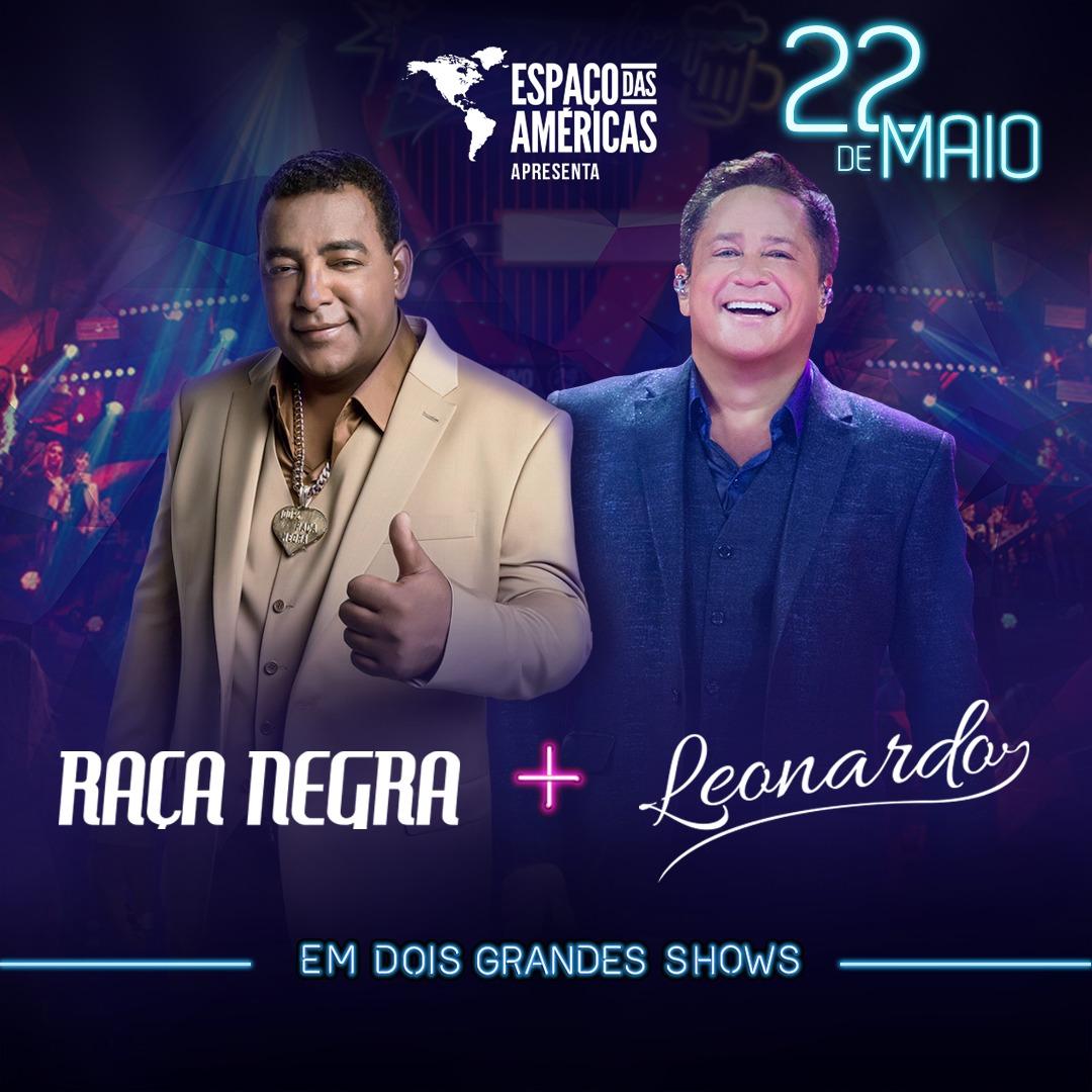 Leonardo e Raça Negra em grande show no Espaço das Américas 41