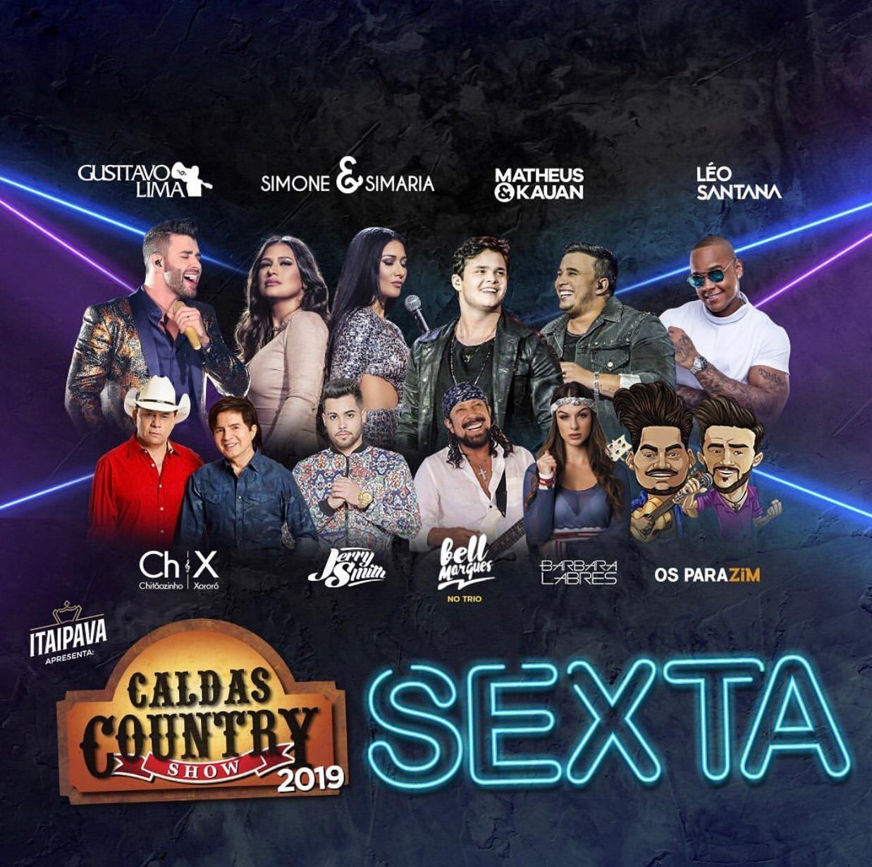 """Caldas Country Show anuncia """"esquenta"""" para o último feriadão prolongado que reúne um timaço de grandes artistas 41"""