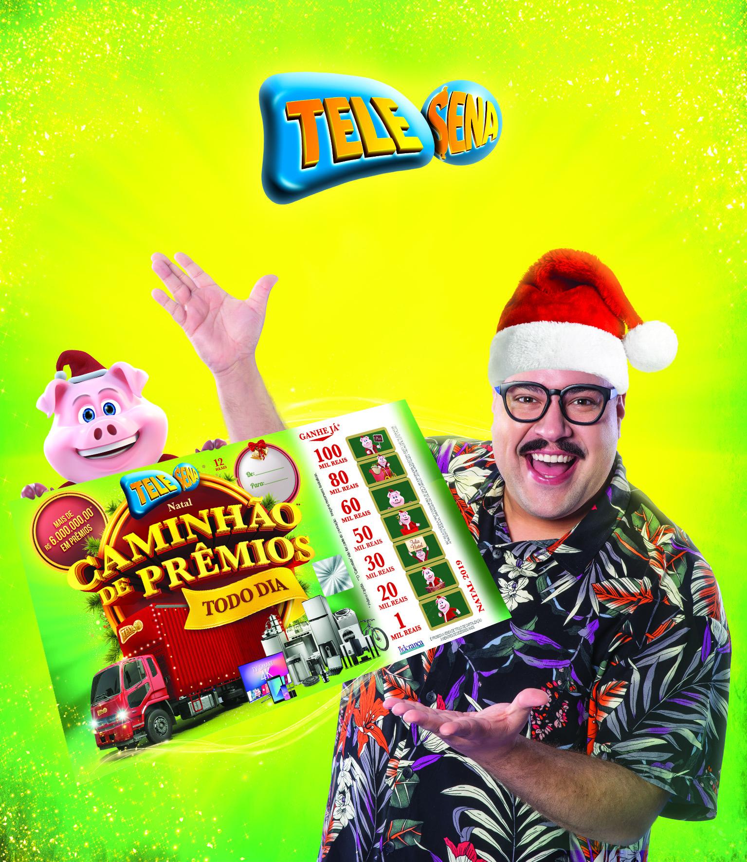 Tiago Abravanel está de volta com a Tele Sena de Natal que traz um caminhão** de prêmios todos os dias 41